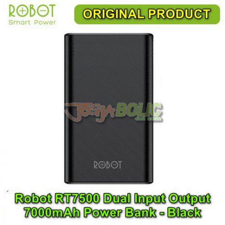 Robot RT7500 Dual Input Dual Output 7000mAh Power Bank – Black 02