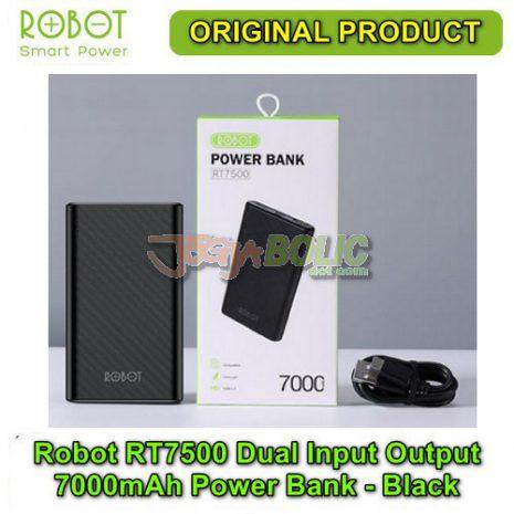 Robot RT7500 Dual Input Dual Output 7000mAh Power Bank – Black 05