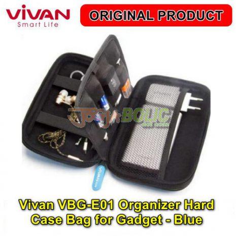 Vivan VBG-E01 Organizer Hard Case Bag for Digital Gadget – Blue 04