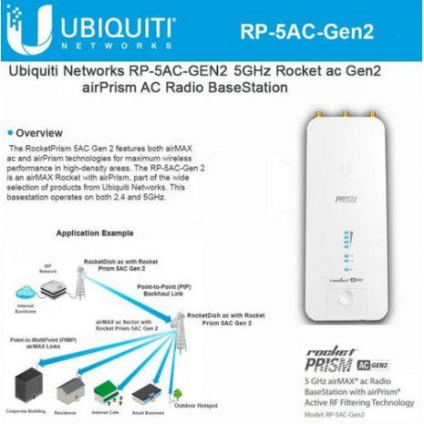 Ubiquiti Rocket airPrism AC RP-5AC-Gen2 01