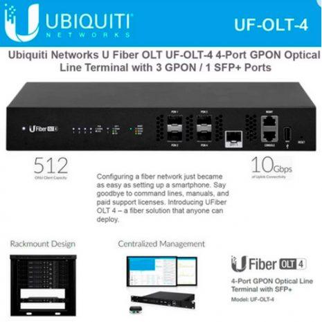 Ubiquiti UFiber OLT 4 (UF-OLT-4) 01