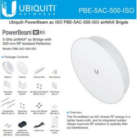 Ubiquity Powerbeam PBE-5AC-500-ISO 00