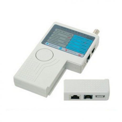 Remote RJ11 RJ45 USB BNC LAN Network Cable Tester Tracker Detector