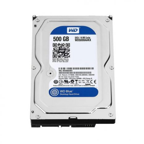 WDC Blue 500GB HDD Internal SATA 01
