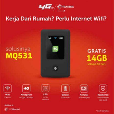 Generic MQ351 Free Telkomsel 14GB 01
