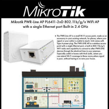 MikroTik PWR-LINE AP PL7411-2nD 05