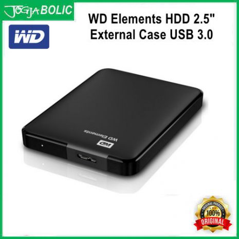 WD HDD 2.5inch External Case USB 3.0 a