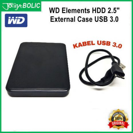 WD HDD 2.5inch External Case USB 3.0 b