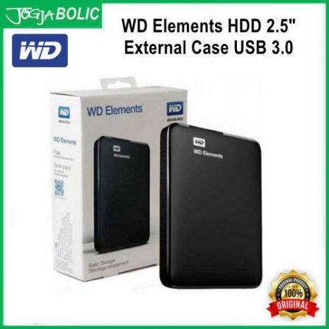 WD HDD 2.5inch External Case USB 3.0 c