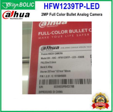 Dahua HFW1239TP-LED c