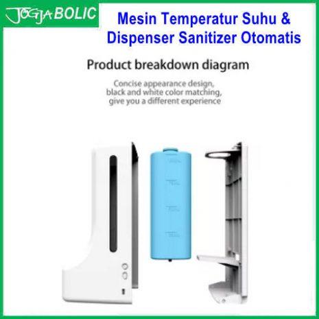 Mesin Temperatur Suhu & Dispenser Sanitizer Otomatis c