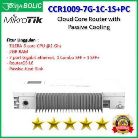 MikroTik CCR1009-7G-1C-1S+PC b