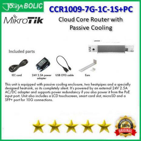 MikroTik CCR1009-7G-1C-1S+PC c