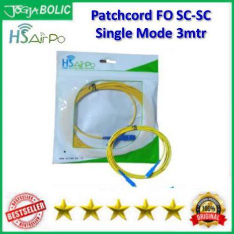 AirPo Patchcord FO SC-SC Single Mode 3mtr a