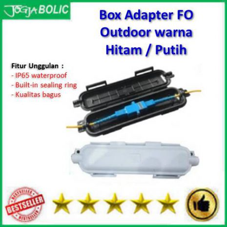 Box Adapter FO Hitam Putih Outdoor a