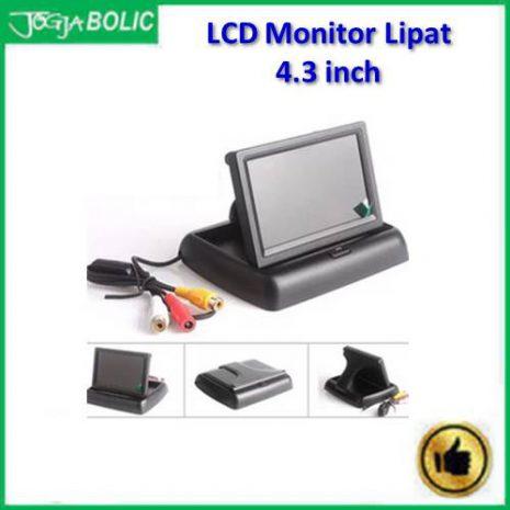 LCD Monitor 4.3 inchi model lipat slim b