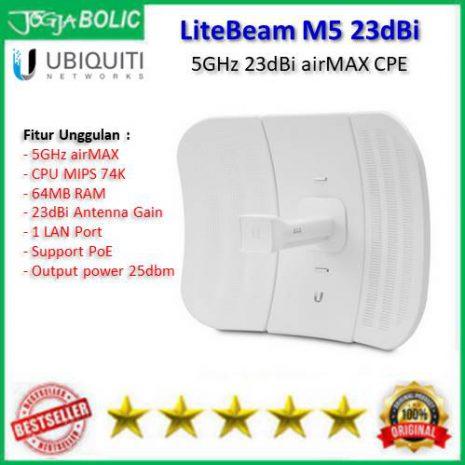 Ubiquiti LiteBeam M5 23dBi a