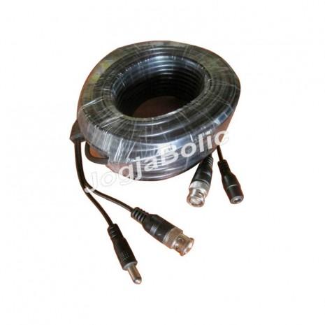 Kabel DC+BNC 20m 01