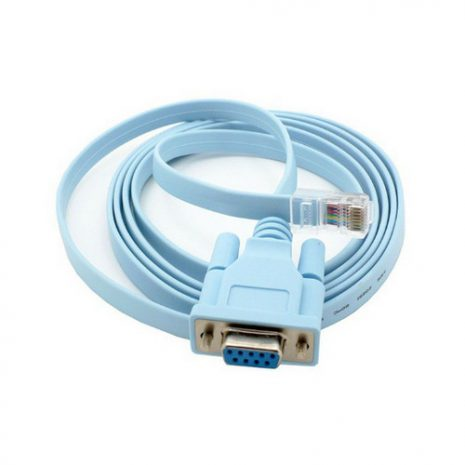 Kabel Console RJ45 to Serial DB9 Female 01
