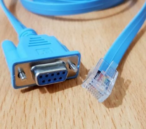 Kabel Console RJ45 to Serial DB9 Female 02