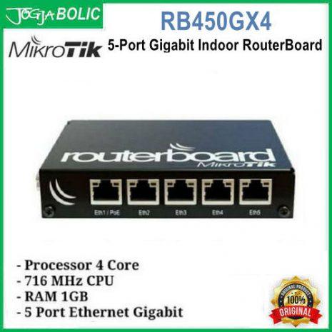 MikroTik RB450GX4 a