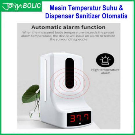 Mesin Temperatur Suhu & Dispenser Sanitizer Otomatis b