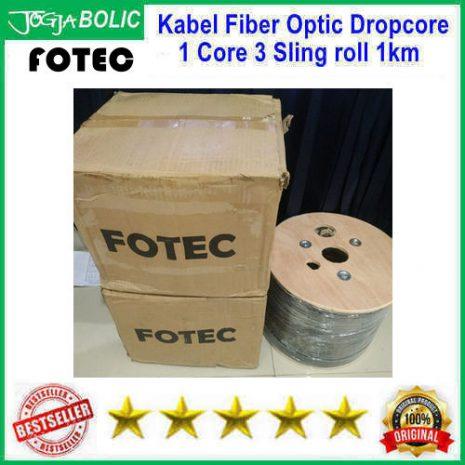 Fotec Dropcore FTTH 1 Core 3 Sling roll 1000mtr d