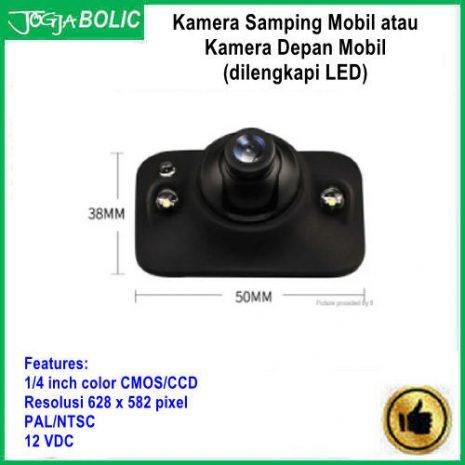 Kamera samping mobil atau kamera depan b