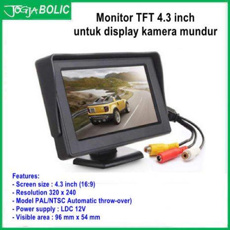 Monitor TFT 4.3 inch utk kamera 01