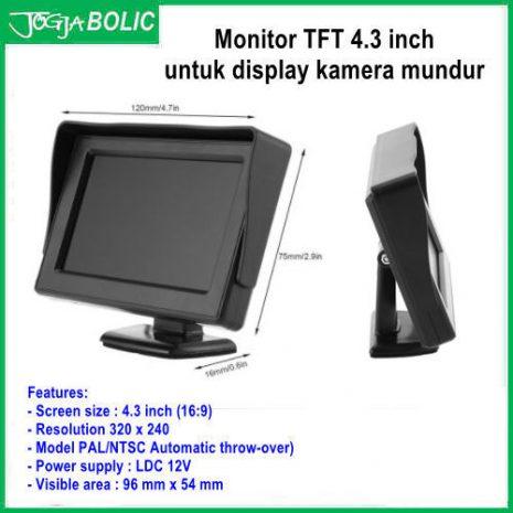 Monitor TFT 4.3 inch utk kamera 02