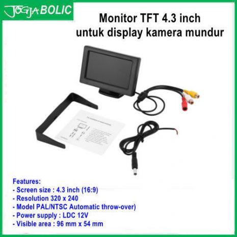 Monitor TFT 4.3 inch utk kamera 03