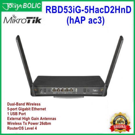 MikroTik RBD53iG-5HacD2HnD (hAP ac3) a