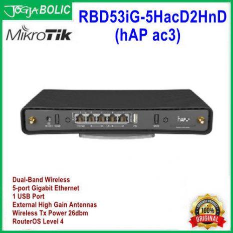 MikroTik RBD53iG-5HacD2HnD (hAP ac3) c